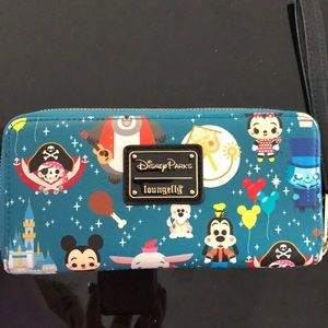 Loungefly Disney Parks Wristlet Wallet
